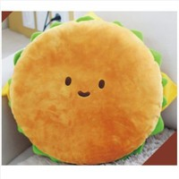 "Hamburger Plush Cushion 16"" cotton food figure toy doll king burger kawaii cute by PLUSH TOY"