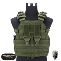 TMC Vest Body Armor EG Assault Plate Carrier Military Airsoft Hunting Molle Combat Gear Camouflage TMC1781 BK MC FG OD KH MR