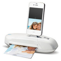 Mustek S600i iPhone/iPod Docking Scanner, White