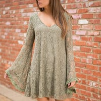 Once Upon A Dream Dress, Olive