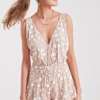 Winston White Starlet Embroidered Tie-Back Romper | Urban Outfitters