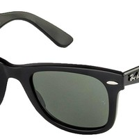 Ray-Ban Polarized Classic Wayfarers RB 2140 901/58 50mm +SD Glasses+Cleaning Kit