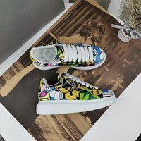 Alexander Mcqueen Graffiti Oversized Sneakers Reference #5