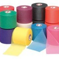 Mixed Colors Bulk Prewrap for Athletic Tape - 1 Roll, Aqua
