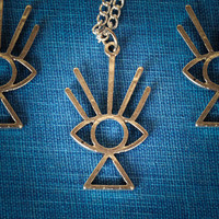 All Seeing Eye Necklace Free Shipping