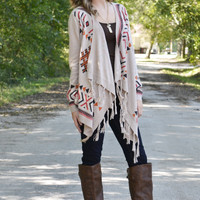 Aztec Thread Cardigan