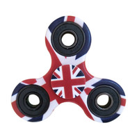 3D Printed Tri Fidget Hand Spinner Toy with High Speed for Boredom, Anxiety and ADHD Kids & Adults