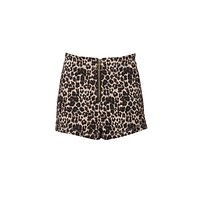 Fierce Forever Leopard Print Shorts