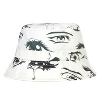 ANIME EYES BUCKET HAT