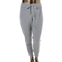 MICHAEL Michael Kors Womens Terry Cloth Heathered Sweat Pants