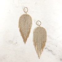 Angel Wings Chandelier Earrings