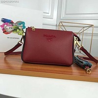 Kuyou Prada Fashion Women Men Gb2966 Female Bag Single Shoulder Bag 21-15-9cm