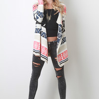 Tribal Asymmetry Cardigan