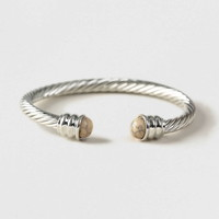 Twisted Cuff Bracelet* - Men's Jewellery & Watches - Shoes and Accessories