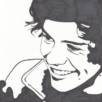 Harry Styles One Direction Pop Art Print with Best Song Ever Quote
