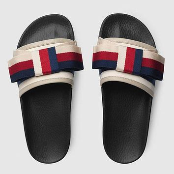 Gucci Casual Fashion Women Sandal Slipper Shoes
