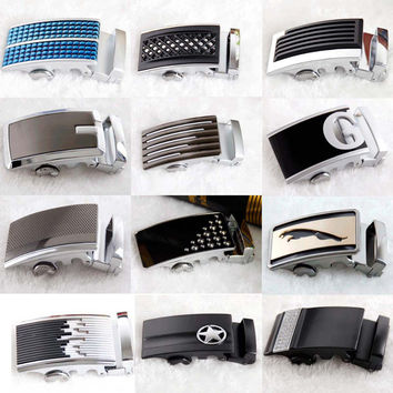 Brand men's belt automatic buckle, belt buckle, leather belt buckle