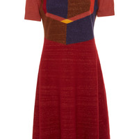 Color-Block A-Line Knit Dress | Moda Operandi
