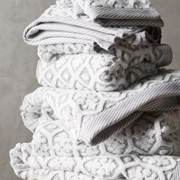 Tarren Towel Collection by Anthropologie in Grey Size: