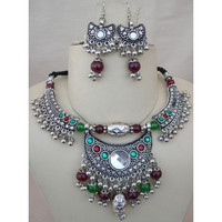 Jewelry Tribal Siler Plated JewielryEthnic Necklace BellyDance Jewelry Tribal Si