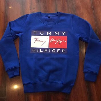 Tommy sports leisure Pullover Sweater