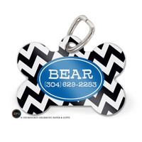 Personalized Dog Tag, Custom Dog Tag, Dog ID Tag, Dog Accessories, Pet Tag, Pet ID Tag