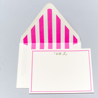 With Love Gold Foil Note Cards