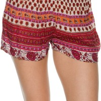 ANGIE PRINTED SOFT SHORT