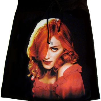 Madonna Confessions Red Hair T-Shirt Skirt