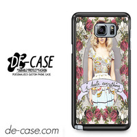 Marina And The Diamonds I Hate Everything For Samsung Galaxy Note 5 Case Phone Case Gift Present YO
