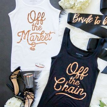 90's Rose Gold Off the Market | Off the Chain Tanks