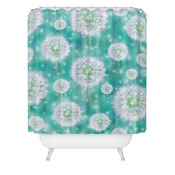 Lisa Argyropoulos Wishes Shower Curtain