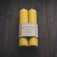 Hand-Rolled Beeswax Candles