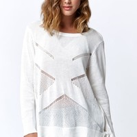 Volcom Reflections Crew Pullover Sweater - Womens Sweater