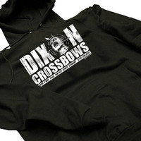 Dixon Crossbows Funny Dead Walking Zombies Hoodie by BigtimeTeez