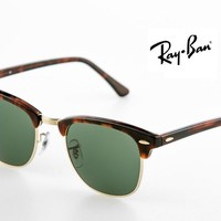 """Cheap RAY BAN RB 3016 W 0366 """"clubmaster """" 51 mm occhiale da sole outlet"""
