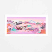 Kate Shaw Magic Hour Art Print- Pink One