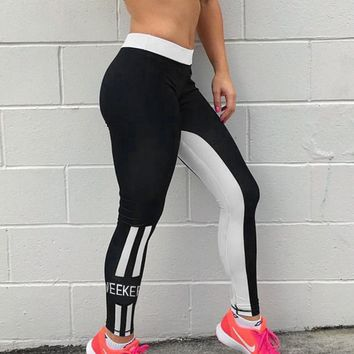 Gym Hot Sale Women's Fashion Winter Sports Yoga Pants Leggings [212030750746]