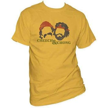 CHEECH & CHONG SILHOUETTES FITTED JERSEY TEE
