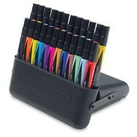 Prismacolor Premier Double-Ended Art Markers - Set of 24 with Carrying Case