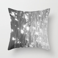 glitter on the water Throw Pillow by Halle Murdock   Society6