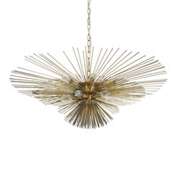 Worlds Away Calliope Urchin Chandelier