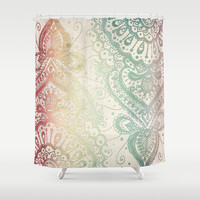 Friday Afternoon Shower Curtain by Jenndalyn