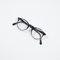 Oliver Peoples Striped Grey Gregory Peck Optical Frame