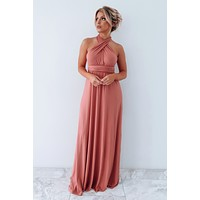 Always In My Heart Maxi: Dark Blush