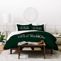 Leah Flores We Are All Wild Things Duvet Cover
