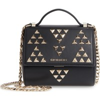 Givenchy Pandora Box Calfskin Leather Top Handle Satchel | Nordstrom