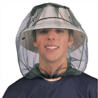 1pc Midge Mosquito Insect Hat Bug Mesh Head Net Face Protector Travel Camping