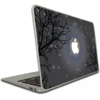 MacBook Air MacBook Pro -13-Inches Vinyl, Removable Skin - Apple Night Sky