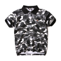 BAPE Camo Polo Don Shirt